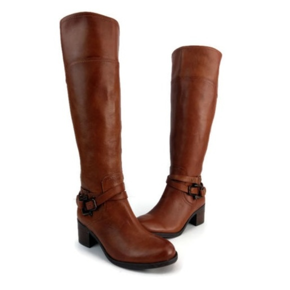 a647a7ad1f9 Marc Fisher Women s Brown Knee High Boots Size 6 M